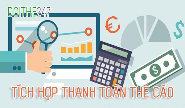 Mức chiết khấu tích hợp thanh toán thẻ cào tại hệ thống Doithe247.com