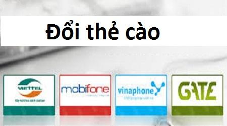Điểm đặc biệt khi thực hiện giao dịch đổi thẻ cào tại doithe66.com