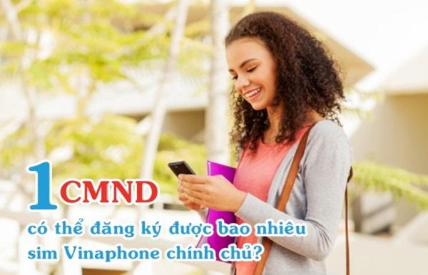 Hướng dẫn kiểm tra CMND đã đăng ký bao nhiêu sim Vinaphone