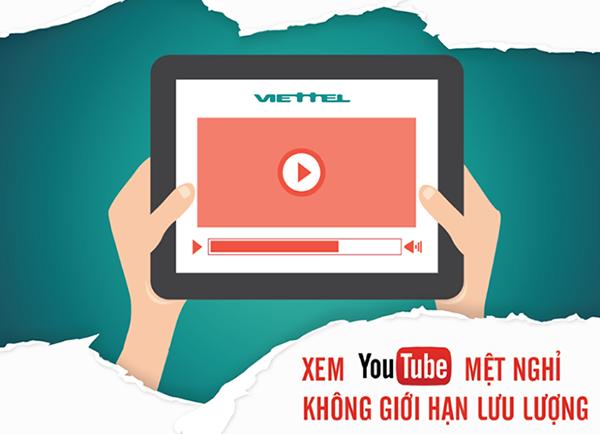 Đăng ký gói YT1 Viettel để xem Youtube 24/7 chỉ 10k