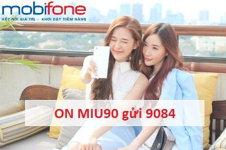Làm thế nào để đăng ký gói MIU90 Mobifone?