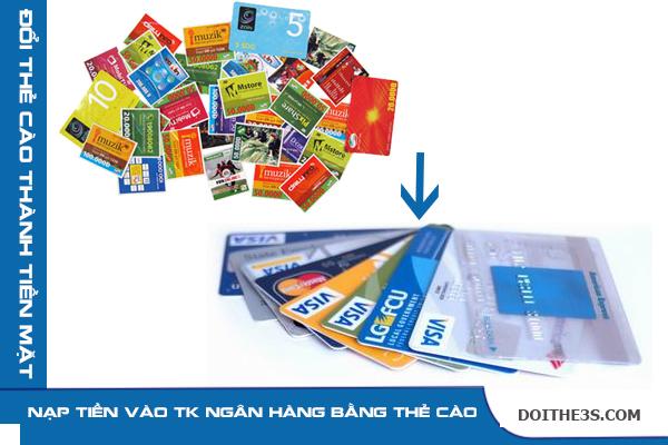 Hướng dẫn cách nạp tiền vào thẻ atm bằng thẻ điện thoại nhanh chóng