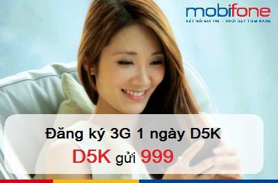 Hướng dẫn đăng ký gói cước D5K Mobifone