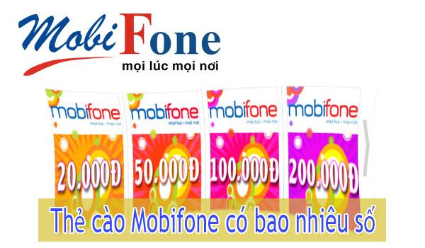 Biết mã thẻ cào Mobifone có bao nhiêu số để không bao giờ nạp sai