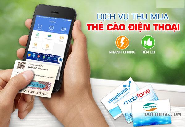 Thu mua thẻ điện thoại - Tiện ích thiết thực cho người dùng