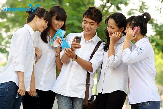 Gói cước B50SV Vinaphone dành tặng ưu đãi lớn cho sinh viên