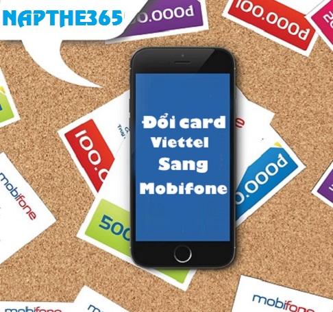 Đổi card Viettel sang Mobi cực nhanh chóng đơn giản