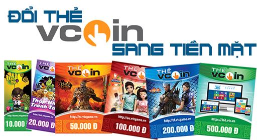 Hướng dẫn đổi thẻ game Vcoin ra tiền giản đơn nhất