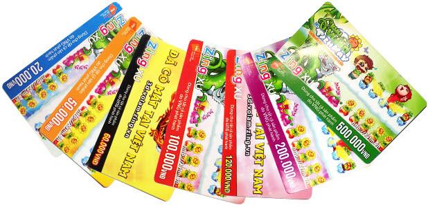 Mua thẻ Zing xu bằng thẻ Viettel cực đơn giản