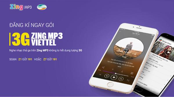 Hướng dẫn cách đăng ký gói 3G Zing Viettel