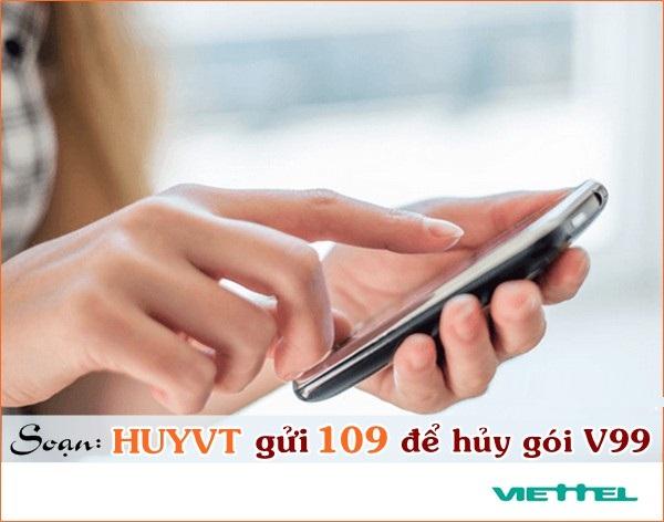 Hướng dẫn cách hủy gói V99 Viettel chỉ trong tích tắc