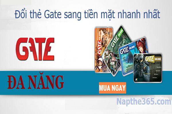 Thu mua thẻ cào Gate trực tuyến nhận về số tiền mặt lớn nhất