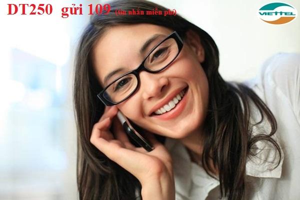 Hướng dẫn đăng ký gói DT250 Viettel đổi tiền nhận ưu đãi lớn
