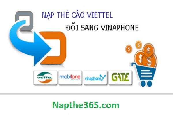 Mua thẻ vina từ thẻ viettel siêu tốc tại Napthe365.com