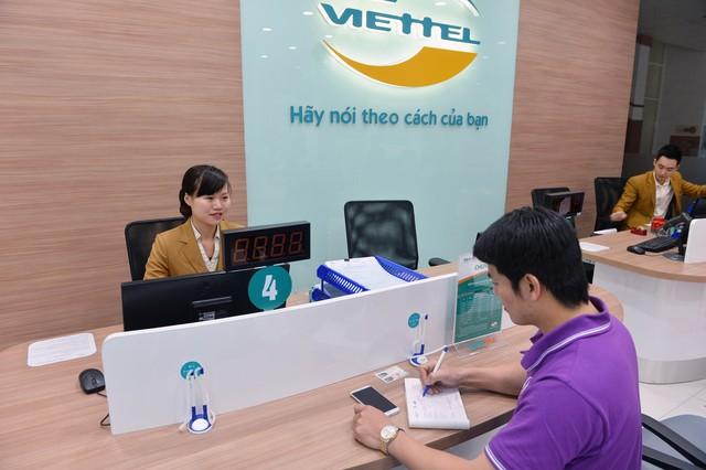 Các điểm giao dịch Viettel trên đại bàn Hà Nội