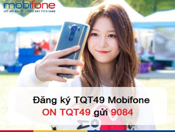Miễn phí 40 phút gọi quốc tế khi đăng ký gói TQT49 Mobifone chỉ 49k
