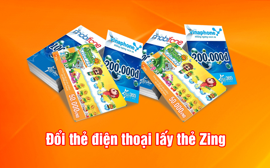 Hướng dẫn mua thẻ Zing online bằng card điện thoại nhanh chóng tại doithe123.com