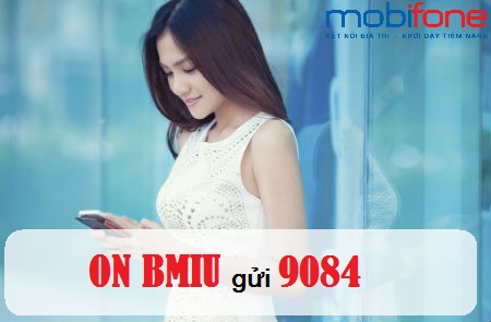 Trọn gói 3GB tốc độ cao cho mỗi tháng cùng gói BMIU Mobifone