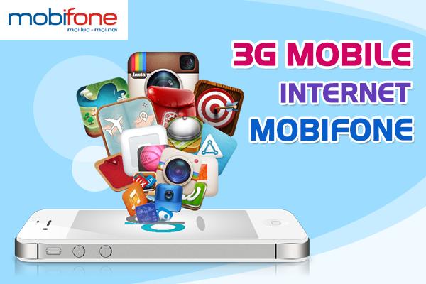 3 gói cước 3G Mobifone ưu đãi dung lượng trên 10GB data
