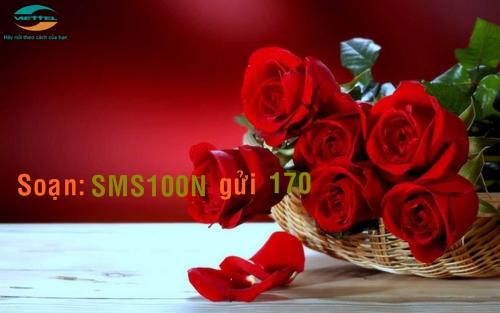 Đăng ký gói SMS100N Viettel nhận ngay ưu đãi tin nhắn lớn
