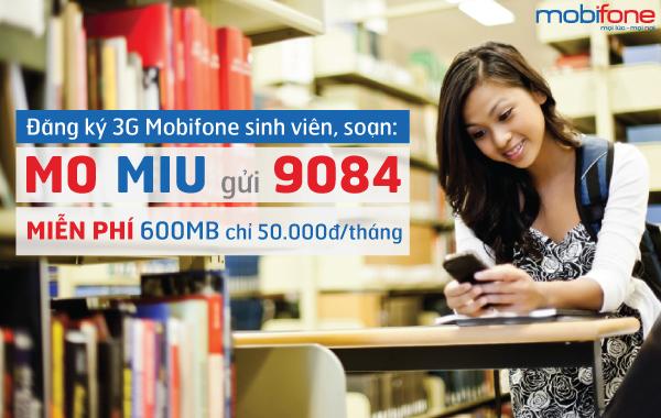 Cú pháp đăng ký nhanh gói cước trọn gói Miu Mobifone
