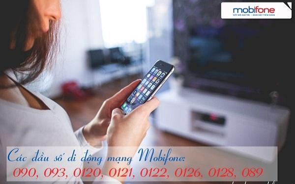 Tổng hợp các đầu số di động Mobifone mới nhất