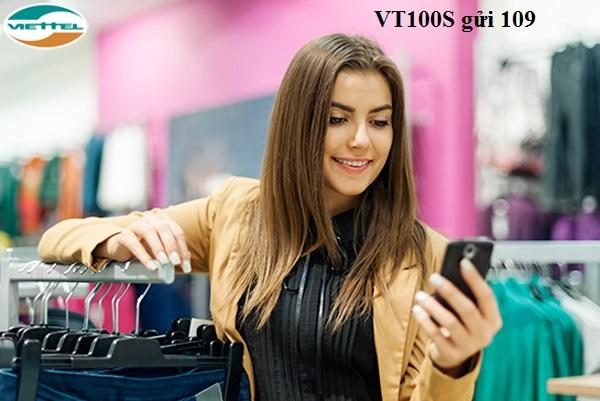 Hướng dẫn nhanh cách đăng kí gói VT100S viettel