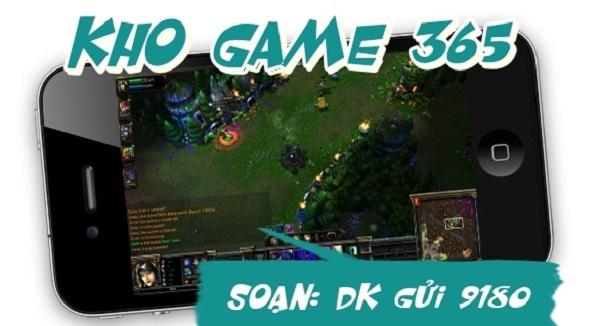 Hủy dịch vụ Kho Game365 Vinaphone qua đầu số 9180