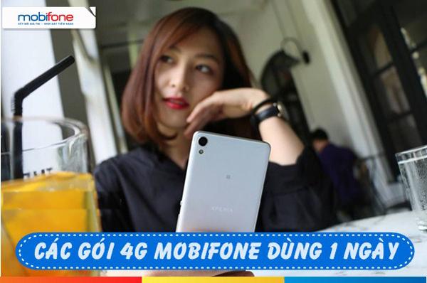 Các gói cước 4G Mobifone 1 ngày cho sim sinh viên giá cực yêu