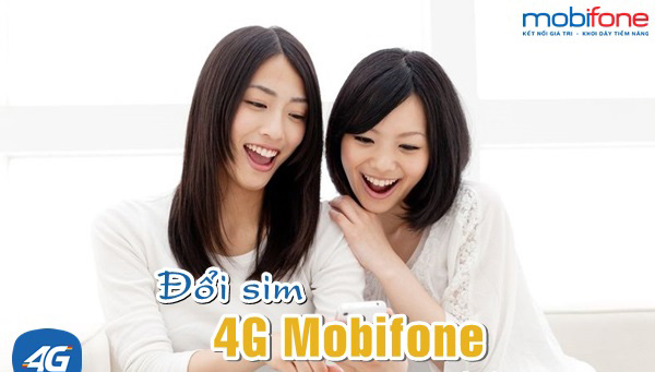 Thực hiện chuyển đổi sang sim 4G Mobifone có mất cước phí không?