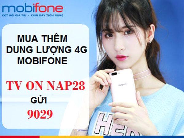 Cách mua thêm dung lượng 4G Mobifone giá rẻ đơn giản nhất