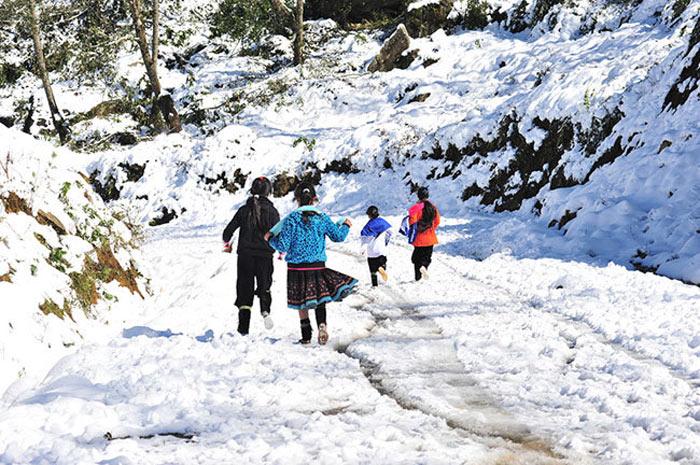 Du lịch Sapa mùa đông ngắm tuyết rơi