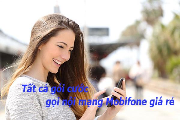 Danh sách tất cả gói cước gọi nội mạng Mobifone giá rẻ