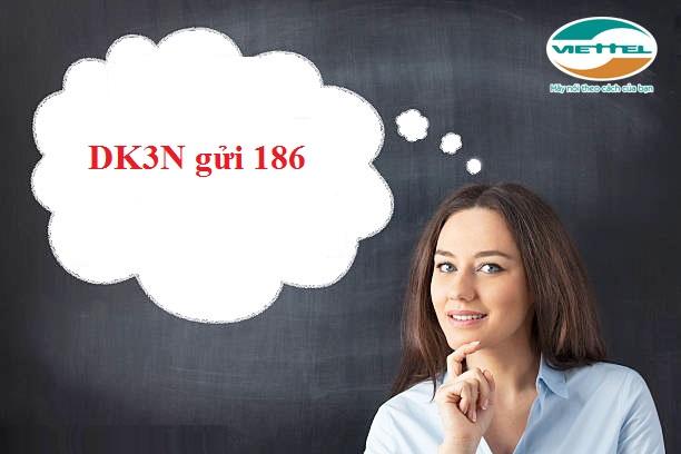 Đăng kí gói DK3N Viettel  nhận miễn phí cuộc gọi dưới 10 phút