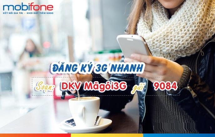 Gói 3G mobifone 2017 data ưu đãi nhất