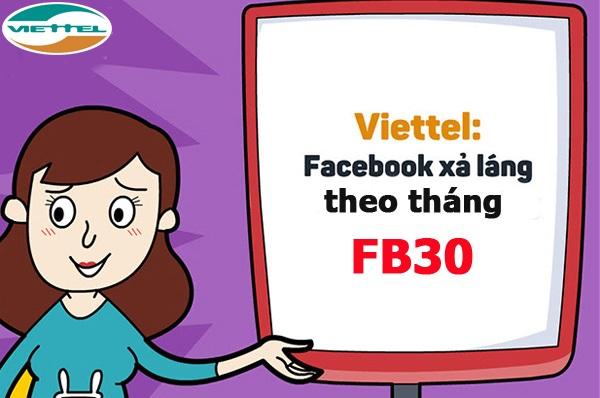"""Tổng hợp các gói Facebook Viettel - lướt """"Phây"""" thoải mái chẳng lo hết tiền"""