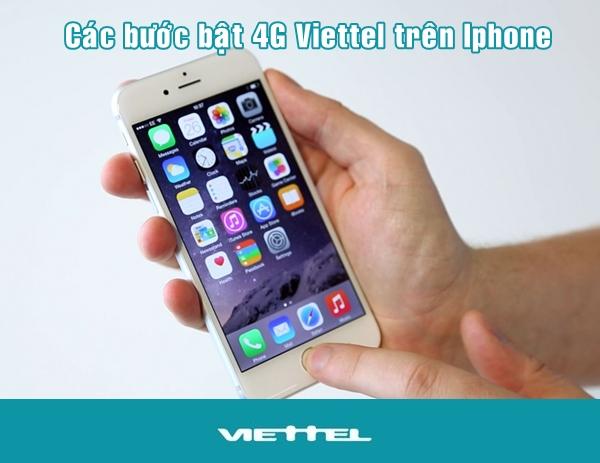 Có thể sử dụng mạng 4G viettel trên iphone hay chưa?