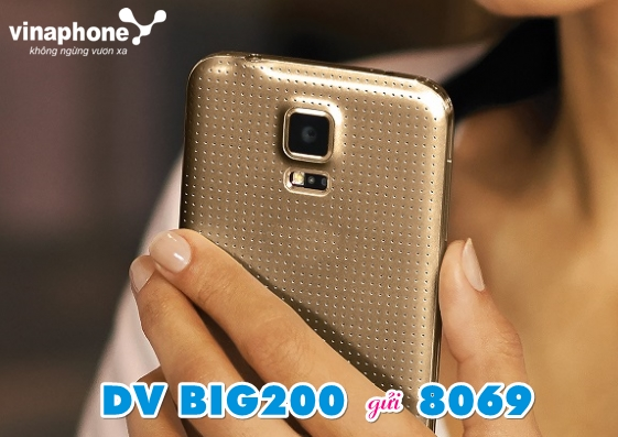 Nhận 11GB miễn phí khi đăng ký gói cước BIG200 Vinaphone