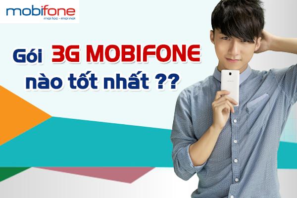 Bảng giá cước gói 3G mobifone mới nhất 2017