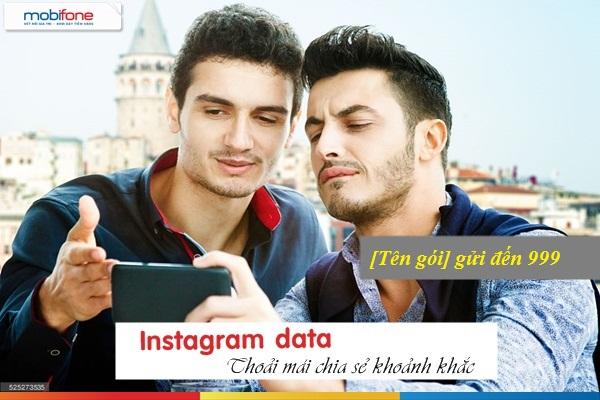 Đăng ký gói data Instagram Mobifone ưu đãi nhất
