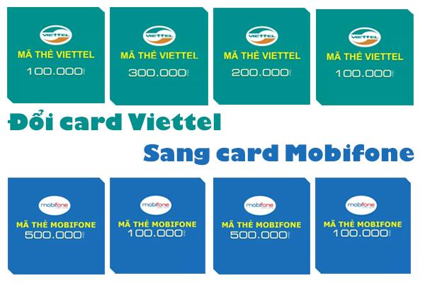 Làm thế nào để đổi card Viettel sang card Mobifone