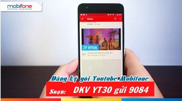 Đăng ký gói YT30 Mobifone nhanh chóng chỉ với 50.000 VND