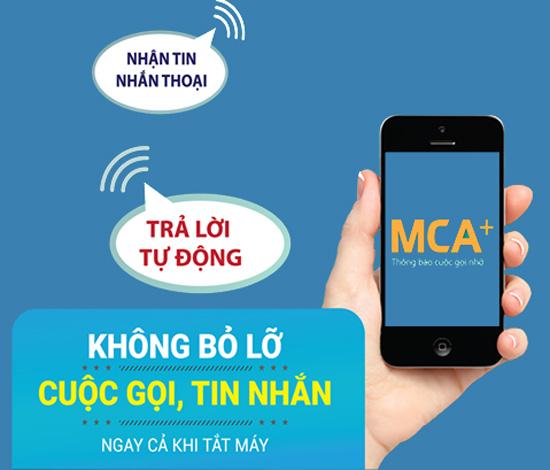 Hướng dẫn đăng kí dịch vụ báo cuộc gọi nhỡ- MCA Vinaphone