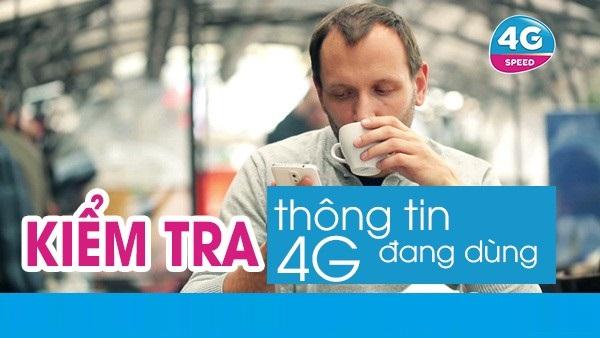 Cách kiểm tra tên gói 4G MobiFone đang sử dụng