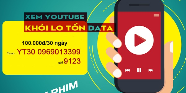 Xem video thỏa thích với gói cước Youtube YT30 của Viettel