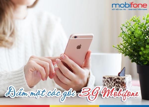 Các gói cước 3G Mobifone phổ biến nhất hiện nay