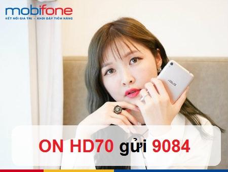 Thông tin mới nhất về gói cước HD70 của Mobifone