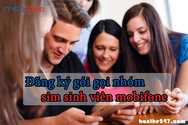 Cách đăng ký gọi nhóm sinh viên mobifone với mức ưu đãi