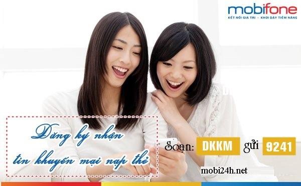 Cách giúp bạn nhận khuyến mãi nạp thẻ Mobifone và không bị làm phiền