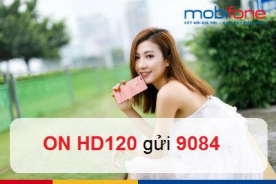Hướng dẫn cách đăng ký nhanh nhất gói cước HD120 Mobifone
